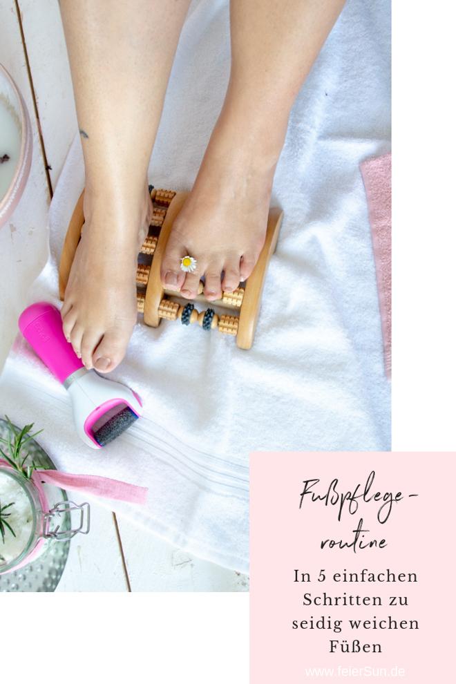 Fußpflegeroutine. Hornhaut ade, mit diesen 5 Schritten bekommst du seidig weiche Füße.   |ᵂᴱᴿᴮᵁᴺᴳ| #feierSun #Fußpflege #Lifestyle