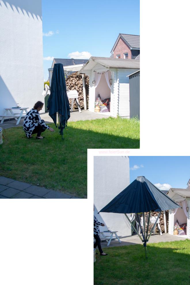 Die erste Wäschespinne mit Dach die LinoProtect 400 von Leifeit im Praxistest. Tipps für das Wäschetrocknen im eigenen Garten.