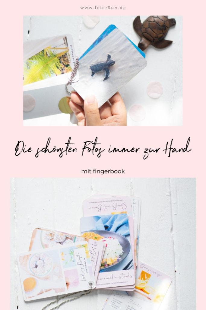 Die schönsten Fotos immer zur Hand mit fingerbook.  Ob Urlaubeerinnerungen, Hochzeitsbilder oder Rezepte: Das kleine, portable Fotoalbum zum Auffächern für deine liebsten Rezepte als Geschenk.  Das Fotogeschenk zum Mitnehmen. Rezeptbücher zum selber drucken und gewinne ein rezeptbook von mir mit exklusiven Rezepten. | #feierSun #Fotogeschenk #feierSunPhotography #FoodBook