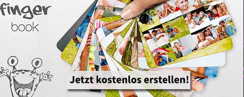 Erinnerungen festhalten und mit deinem fingerbook 10% Rabatt bekommen.
