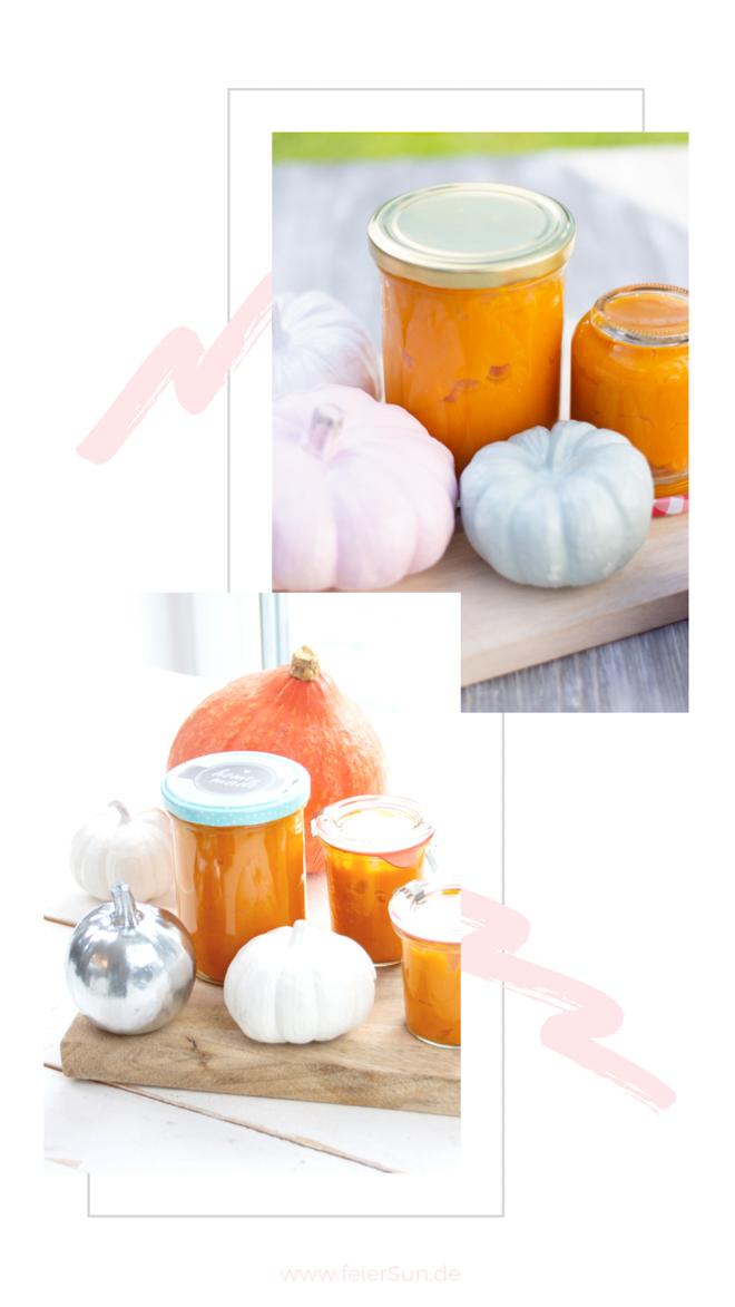 Herbstgruß aus der Küche: Schnell gemacht und vielseitig einsetzbar ist dieses Kürbispüree. Kürbismus ist Herbst im Glas.