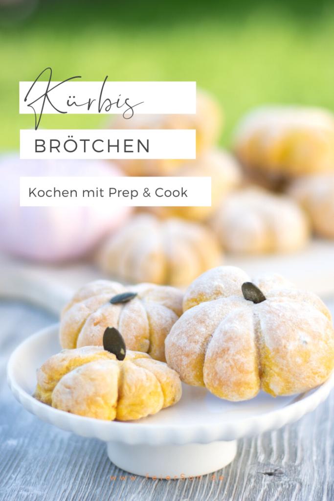 Ein Rezept für einfache #KüRBiSbRötCheN ganz im Design des Herbstes & perfekt für den #ErnteDank oder #SweetTable? Dann lass Dich von meinem Kürbisbrötchen #Rezept inspirieren und siehe wie einfach das mit der Prep & Cook geht. | #feierSun #feierSunFood #feierSunPhotography