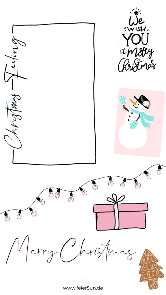 Instagram Story Gifs |Mach deine Insta-Story individuell und verschönere sie mir meinen Gifs. Kleine Designelemente die sich bewegen und deine Instagram Story verschönern. Exlusiv und von mir selbst hangezeichnet. Mein Geschenk an dich.  Lichterketten, Rahmen, Schneeflocken, Schriftzüge, Kekse, ein Mistelzweig inkl. Schneemann und Geschenke sowie andere schöne Winter-Weihnachts-Desings von mir HANDGEZEICHNET exklusiv für dich.   #feierSun #giveaway #storysticker #gifs #feierSunFreebie #feierSuNDesign