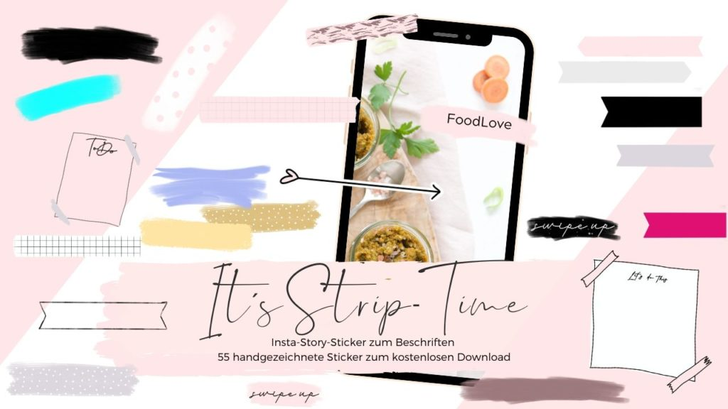 Instagram Story Stickers - Blogger Instagram - Social Media Stickers - Instagram Stories - Instagram Branding - Instagram Sticker - Blog Story Stickers | Design Elemente kostenlos