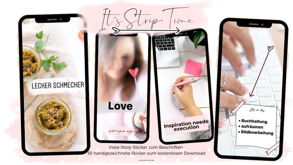 Story Stickers | Design Elemente kostenlos