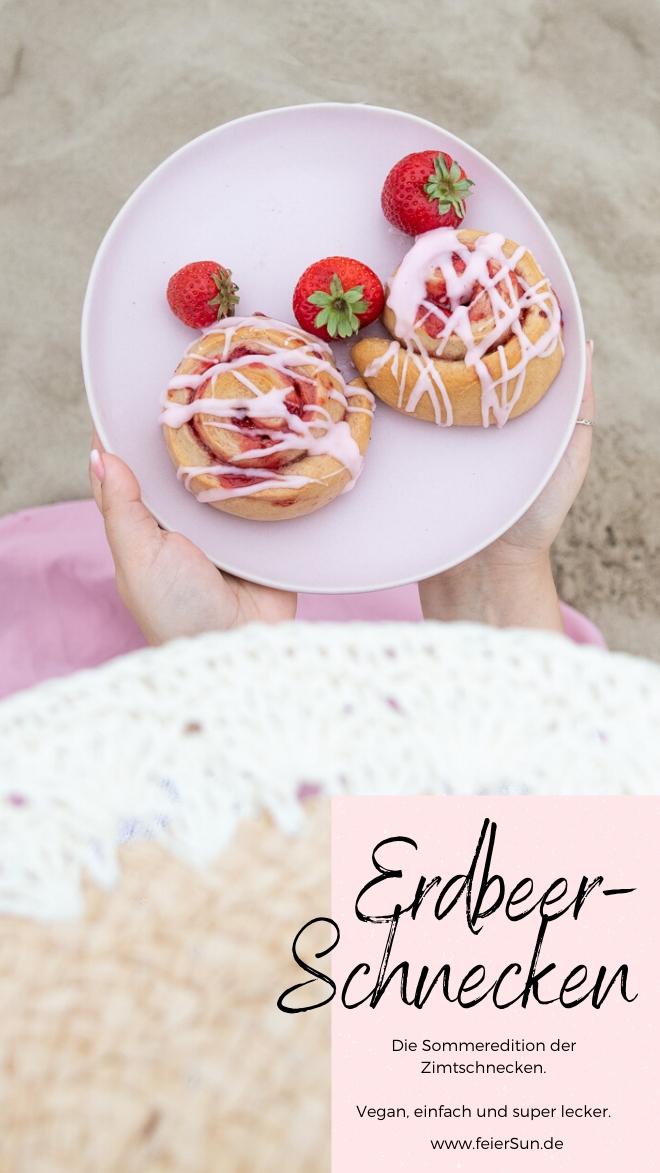 Die Sommeredition der Zimtschnecken sind fruchtig, einfach, vegan und super lecker.