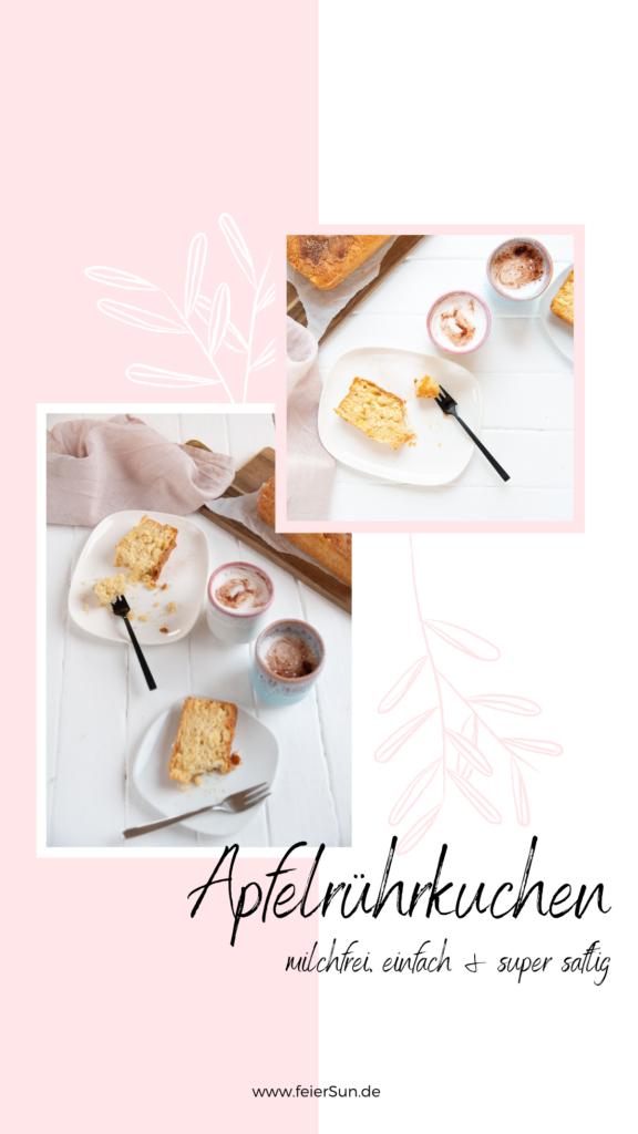 Der perfekte Kuchen zum Mitbringen ist mein einfacher Apfel-Rührkuchen ist so eines. Super einfach, du hast alles dafür im Haus und garantiert schnell weggefuttert. Dieser ApfelRührkuchen ist einfach hammerlecker #feierSun #Apfelrührkuchen #Rührkuchen #apfelkuchen