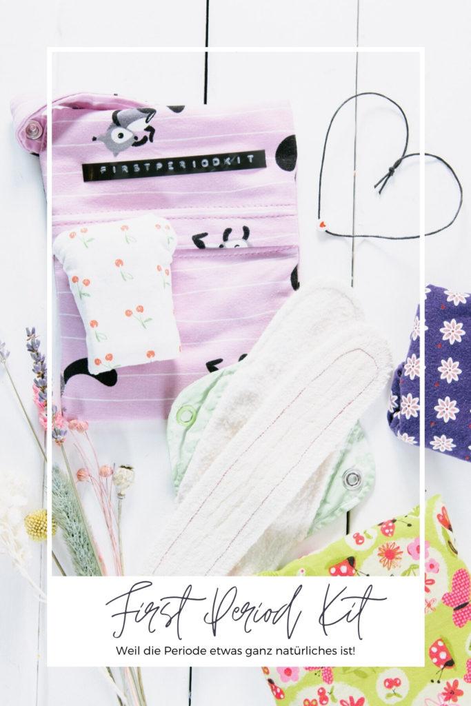 Die erste Periode ist etwas sehr aufregendes. Damit jedes Mädchen gewappnet ist braucht es ein nachhaltiges First Period Kit. Nachhaltige Slipeinlagen und waschbare Binden. Stoffbinden sind super natürlich!