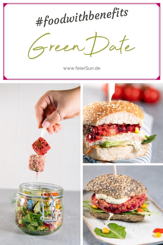 Mit GreenDate hast du leckeres #FoodwithBenefits. Super knackiges Gemüse und natürliches Superfood