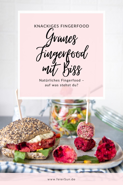 Knackiges Fingerfood mit Biss für deine Party, den Alltag oder die Mittagspause. Mit GreenDate ganz einfach zu naschen.